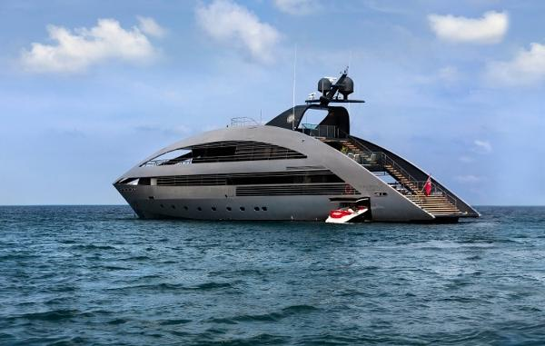 Rodriguez Yachts 41m  41m Super Yacht-Ocean Emerald