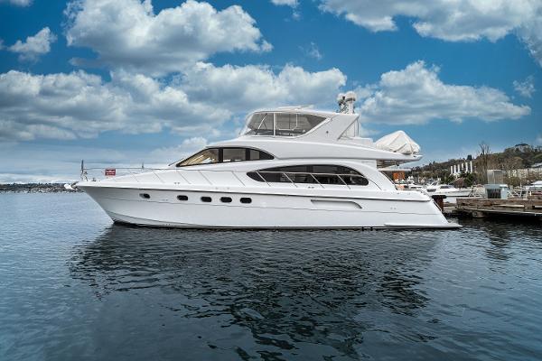 """Hatteras Raised Pilothouse Motoryacht 63' Hatteras """"BELLISSIMO"""""""
