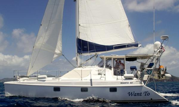 Manta 40 Sail Catamaran Want To
