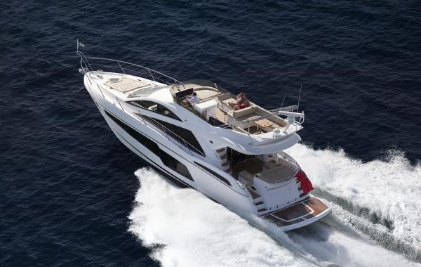 Sunseeker Manhattan 55 Sunseeker 55 Manhattan Running (Sistership Photo)