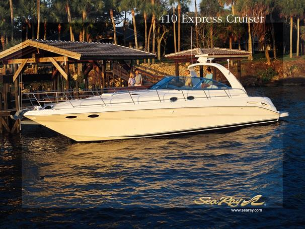 Sea Ray 410 Express Cruiser Manufacturer Provided Image