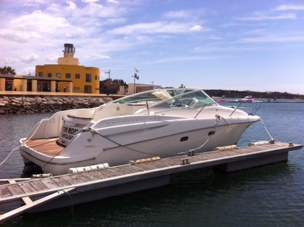 Jeanneau Prestige 30 S. Moored up