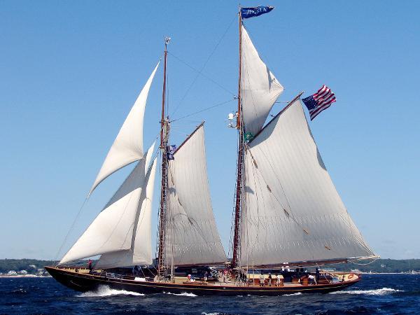 Custom Sail Training Schooner