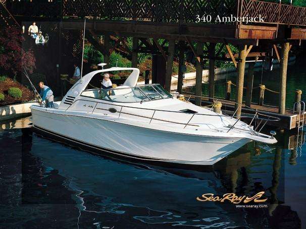 Sea Ray 340 Amberjack Manufacturer Provided Image