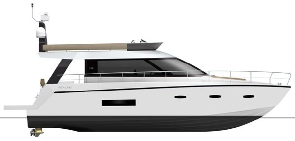 Sealine F490 Profile