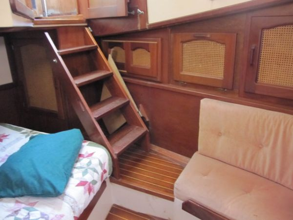 Companionway and storage
