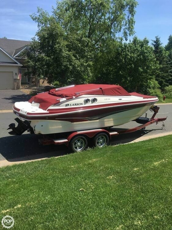 Larson LXi 218 2009 Larson 218 LXI for sale in Prior Lake, MN