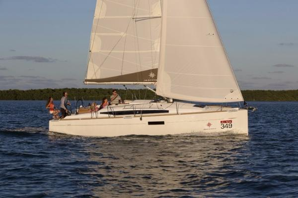 Jeanneau Sun Odyssey 349 Manufacturer Provided Image
