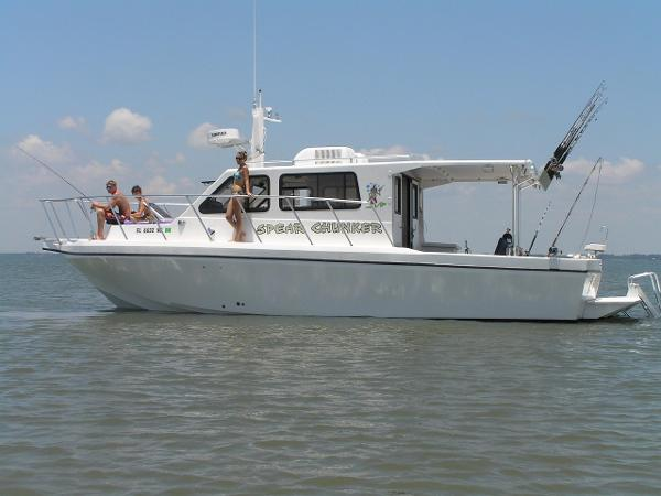 Sea Hawk 360 Dive Boat Low Hours!
