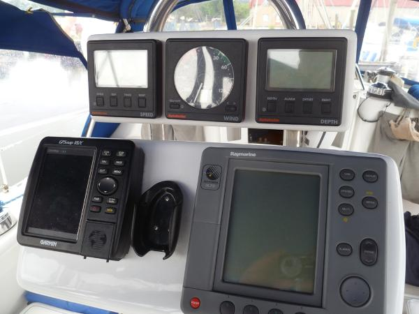 Instruments at Helm