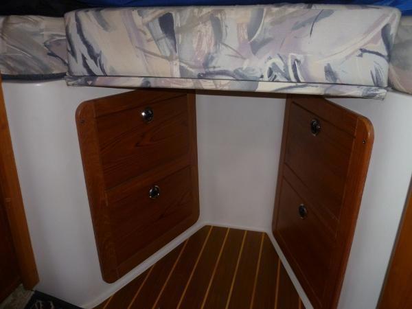 Storage in Fwd Stateroom
