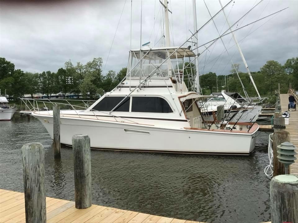 Egg Harbor 43 Convertible