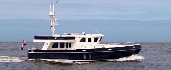 Privateer Trawler 50 Side View