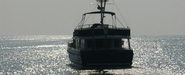 Privateer Trawler 50 Stern
