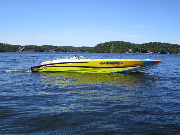 Skater 46 Custom Race Boat