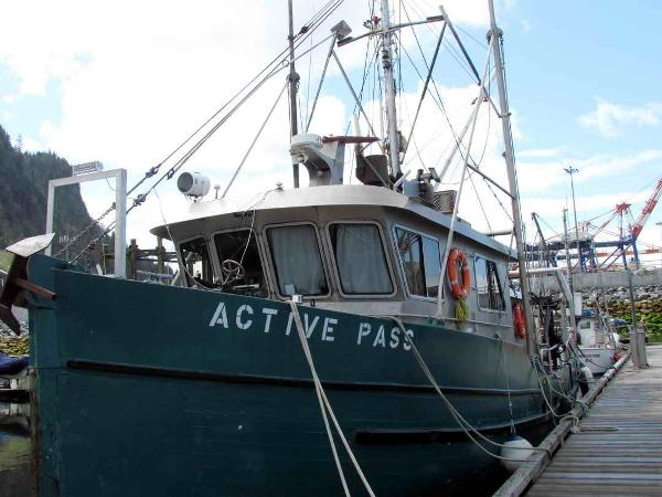 Research Vessel - Commercial Fishing Conversion