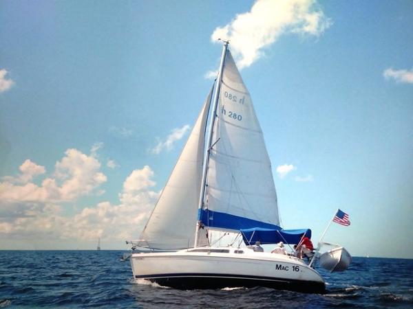 Hunter 280 Profile_Port Sailing