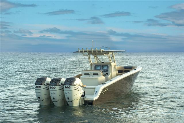 Blackwater Boats Sport Model 36 Sport