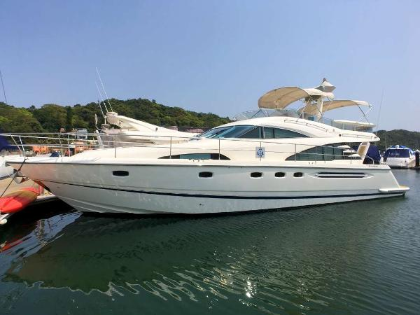 Fairline 58 Fairline 58 Profile