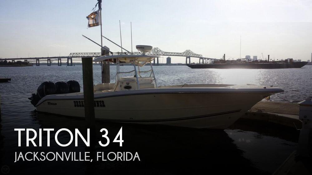 Triton 351 2007 Triton 34 for sale in Jacksonville, FL