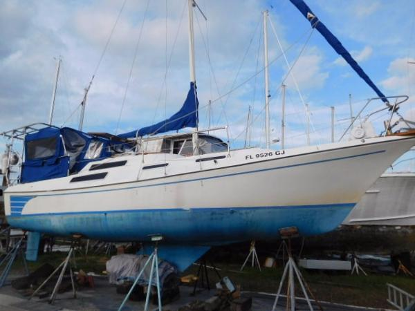 Clipper Craft 30 Sloop Starboard Profile