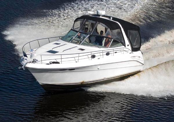 Sea Ray 340 Sundancer Bow To Port