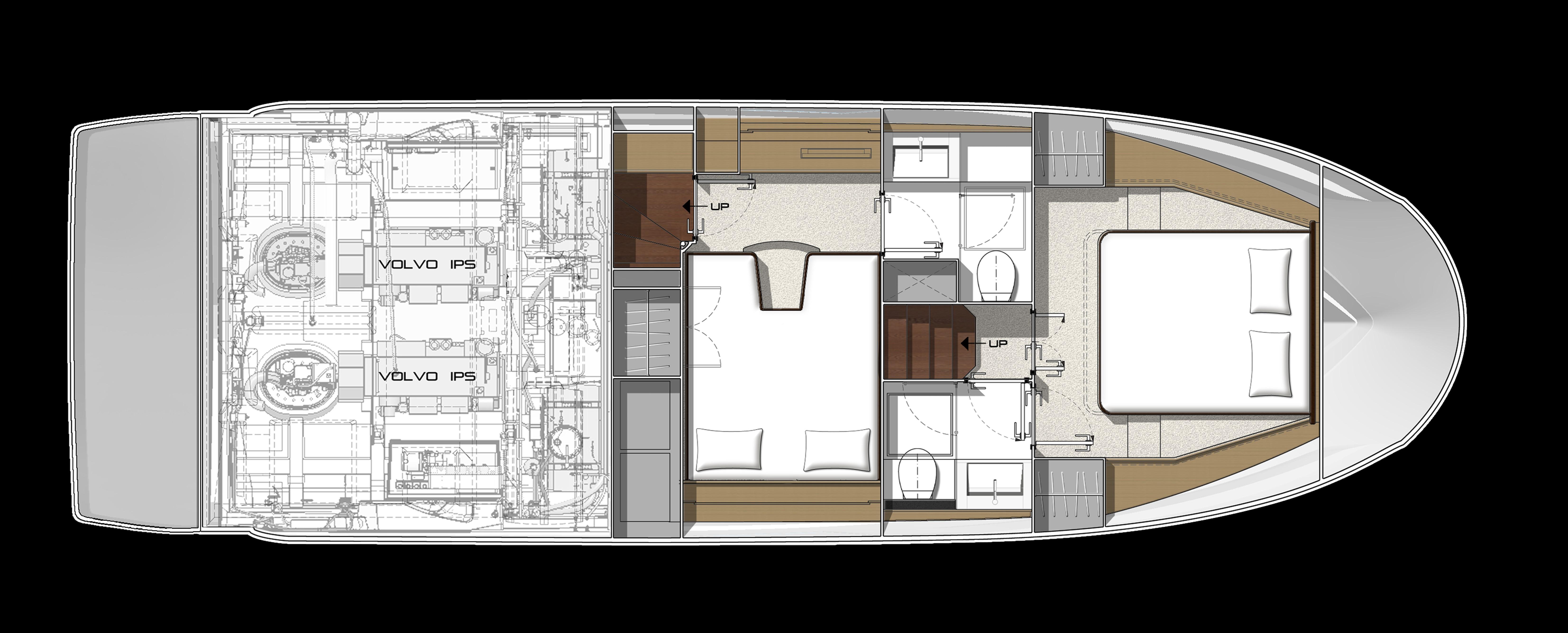 Prestige 420 Prestige 420 Flybridge Yacht