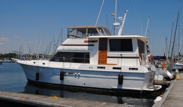 Gulfstar 44 Motor Yacht Profile