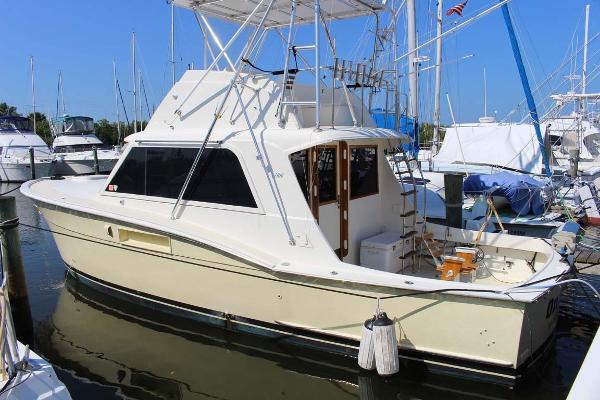 Hatteras 34 Convertible Profile