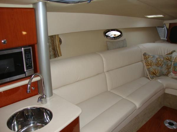 Port side bow seating