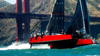 DNA Full Foiling Catamaran