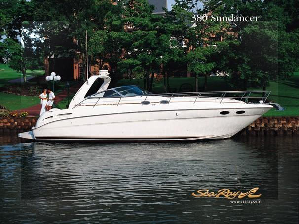 Sea Ray 380 Sundancer Manufacturer Provided Image