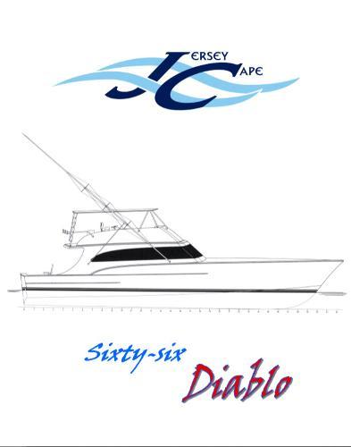 Jersey Cape 66' Diablo Jersey Cape Custom