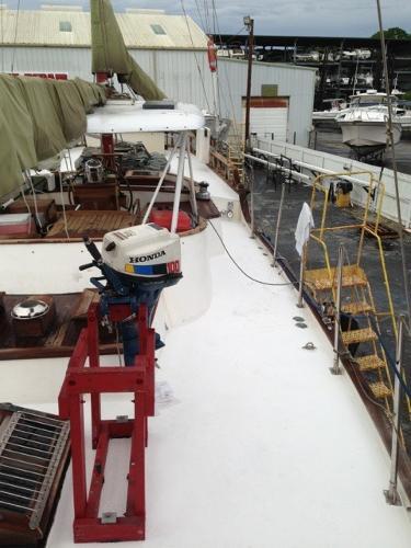 Fiberglass Deck