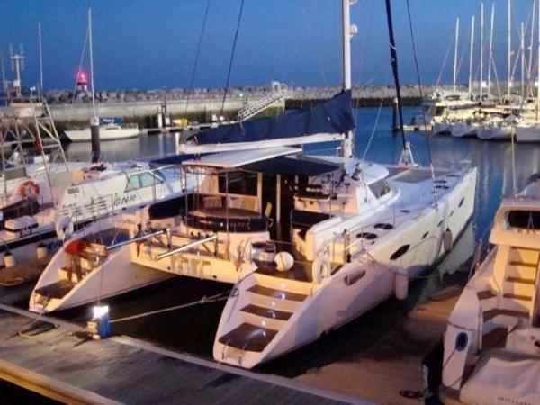 Fountaine Pajot Eleuthera 60 Moored up