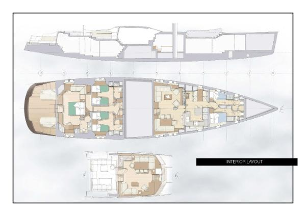Interior & Pilothouse Layout