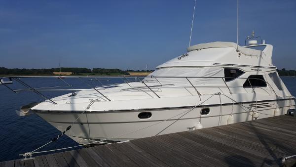 Princess 360 Flybridge. Home berth.