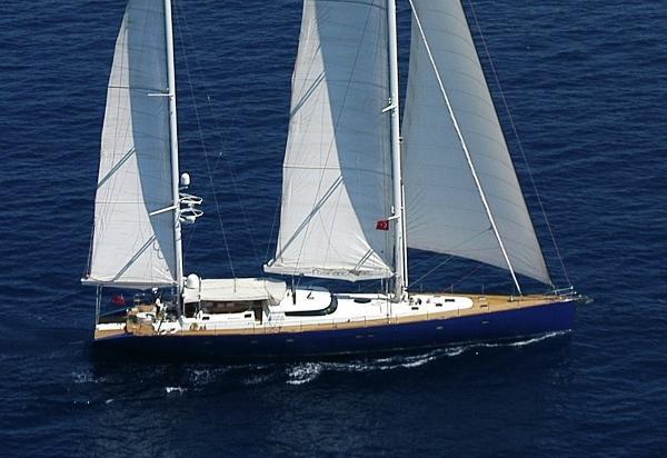 Custom Notika 33m Sailing Yacht 33m Custom Notika Sailing Yacht 'Rosinante of Notika'