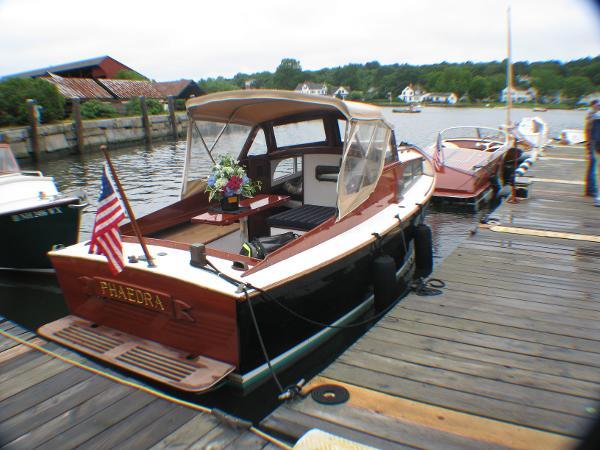 Classic Atkins Sand Dollar 22 Phaedra @ Mystic Seaport