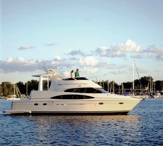 Carver 444 Cockpit Motor Yacht Manufacturer Provided Image