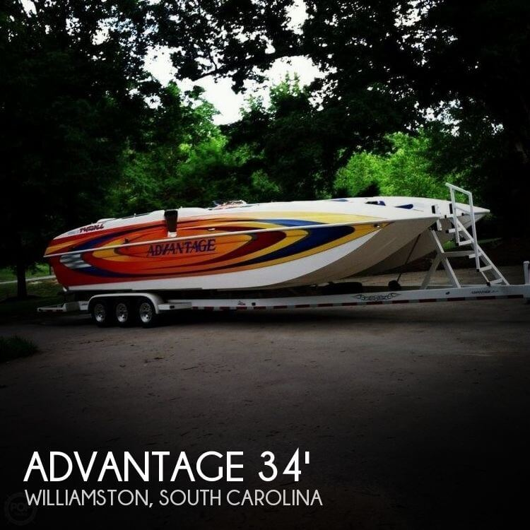 Advantage Boats 34 Party Cat 2006 Advantage 34 Party Cat for sale in Williamston, SC