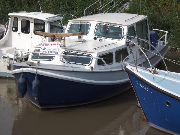 Custom Dutch Steel Motor Cruiser (sold)