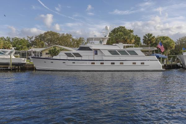 Broward Raised Pilothouse Motor Yacht Patience