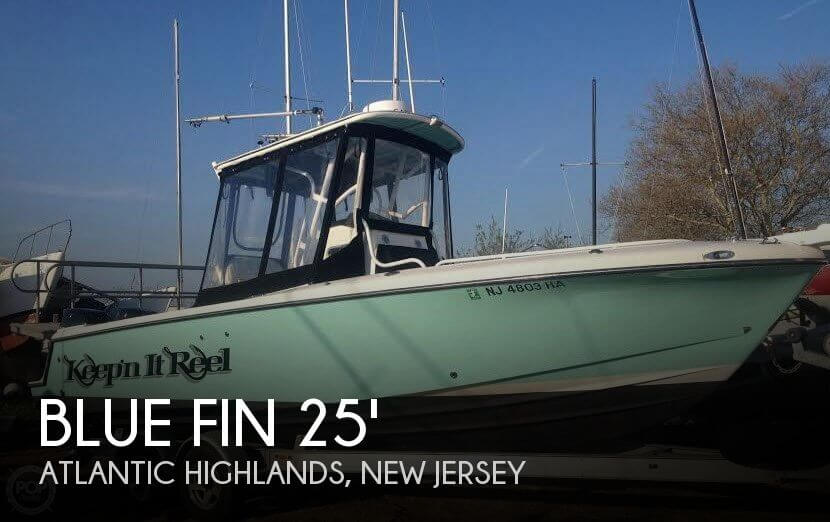 Blue Fin Pro Fish 250 2007 Blue Fin Pro Fish 250 for sale in Atlantic Highlands, NJ