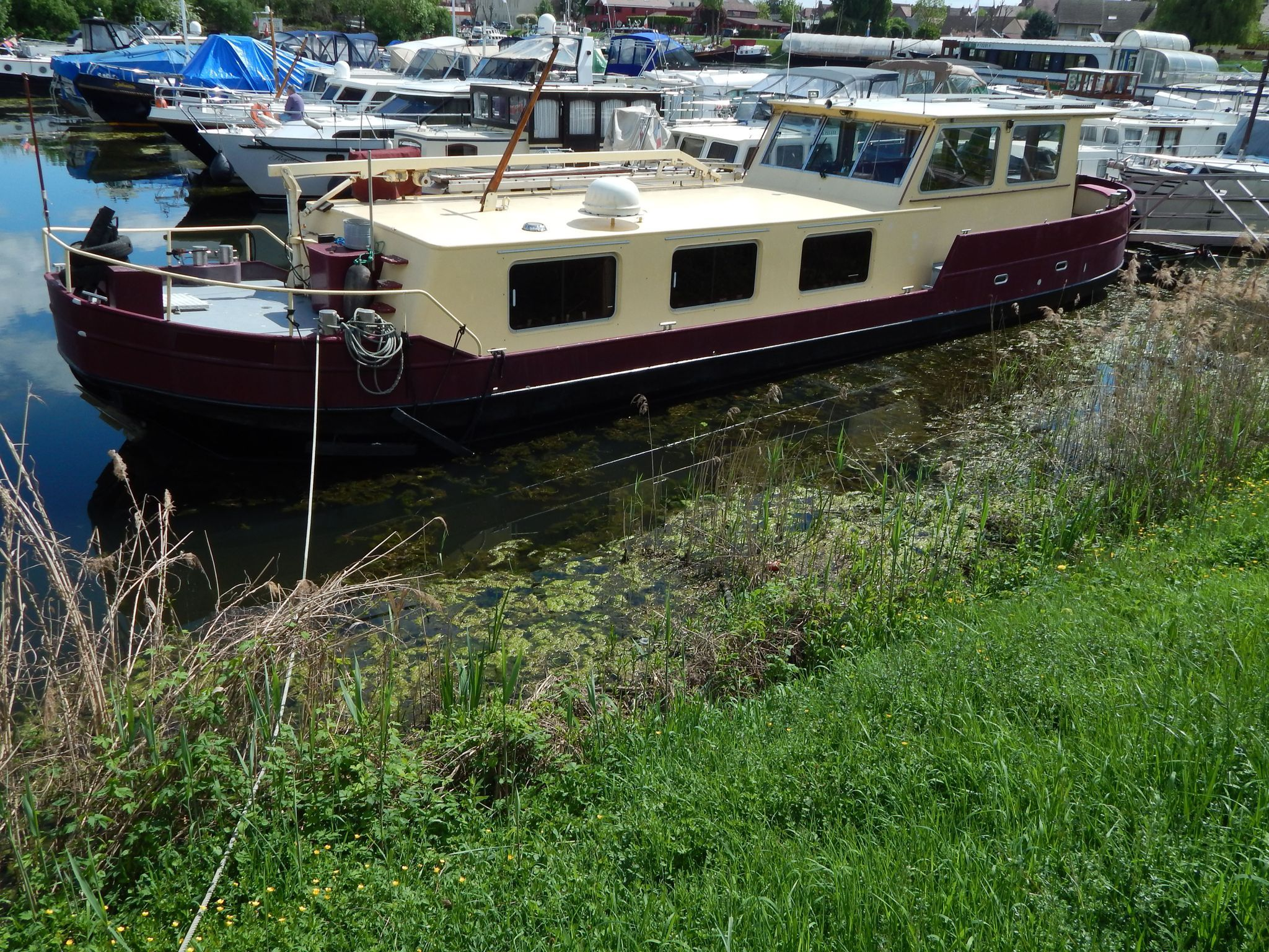 Dutch Motor Barge