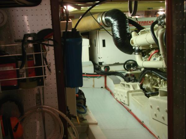 Engine Compartment from Master Stateroom Head