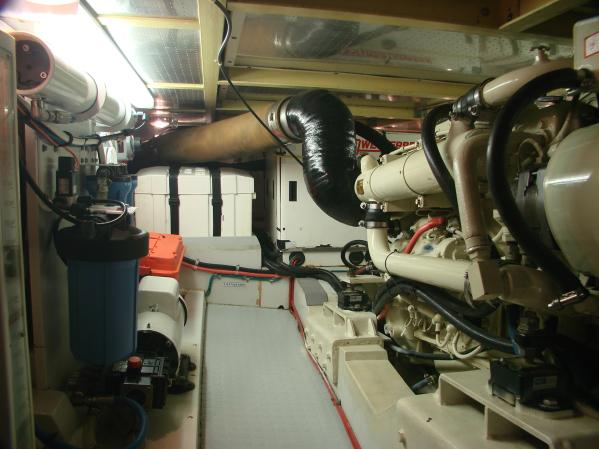 Engine Compartment Looking Aft