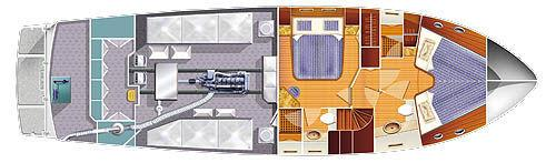 Layout Engine Room / Accommodations
