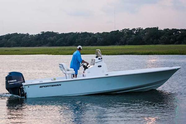 Sportsman Masters 227 Bay Boat Manufacturer Provided Image