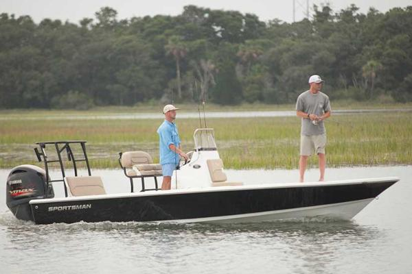 Sportsman Tournament 214 Bay Boat Manufacturer Provided Image